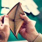 личен фалит празен портфейл